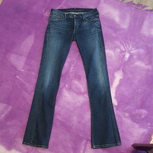 COH Emmanuelle mid rise boot cut jeans